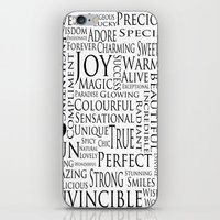 You Are All Of This And … iPhone & iPod Skin