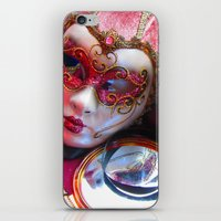 Colourful Masks iPhone & iPod Skin