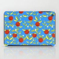 Orange Grove Pattern iPad Case