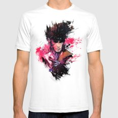 Gambit Mens Fitted Tee White SMALL
