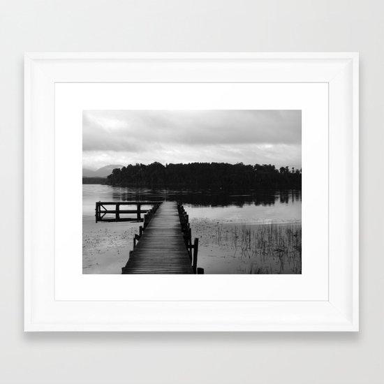 South Island New Zealand  Framed Art Print