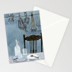 Still life with dried herbs Stationery Cards