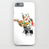 Boba Fett Print iPhone 6 Slim Case