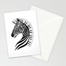 Zebra Clef Stationery Cards