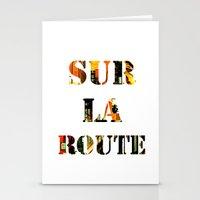 Sur La Route Stationery Cards