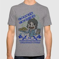 carol's cookies Mens Fitted Tee Athletic Grey SMALL