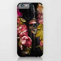 Skull And Peonies iPhone 6 Slim Case