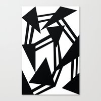 Race Canvas Print