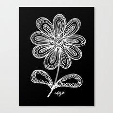White Flower 93 Canvas Print