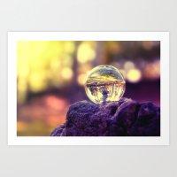 COLLECTION »CRYSTAL BALL« | Last Light Art Print