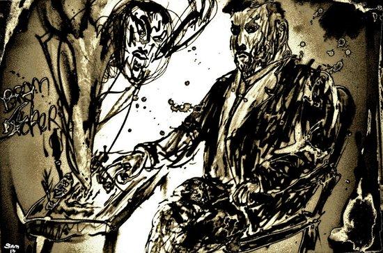 Bram Stoker Art Print