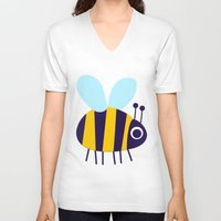 Big Bee Unisex V-Neck
