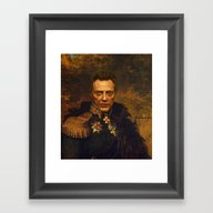 Christopher Walken - Rep… Framed Art Print