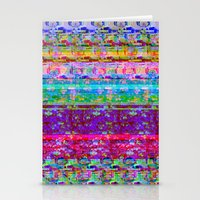 Glitch 001 Stationery Cards