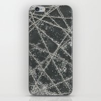 Sparkle Net Black iPhone & iPod Skin