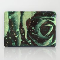 Turquoise Roses 2 iPad Case