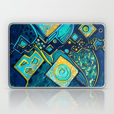 GALAXY SPARKLES BLUE Laptop & iPad Skin