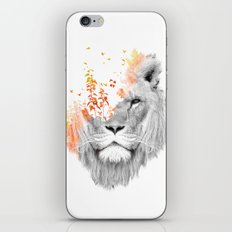 If I roar (The King Lion) iPhone & iPod Skin