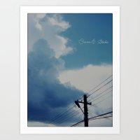 Mainstage cloud Art Print
