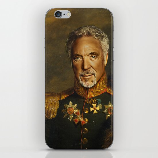 Sir Tom Jones OBE iPhone & iPod Skin