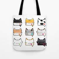 Convo Cats! Tote Bag