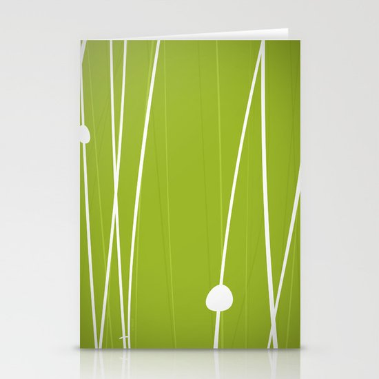 Grass by Friztin Stationery Card