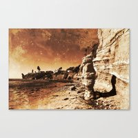 Awaiting The Unavoidable… Canvas Print