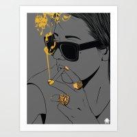 24K - No Worries Art Print