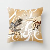 The Kreation  Throw Pillow
