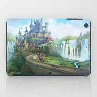 epic fantasy castle  iPad Case