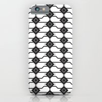 Cat Box Pattern iPhone 6 Slim Case