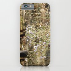 Fall Color with Flowers iPhone 6 Slim Case