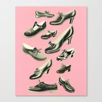 Shoe Fetish Canvas Print