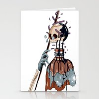 native Stationery Cards featuring Native  by PAFF