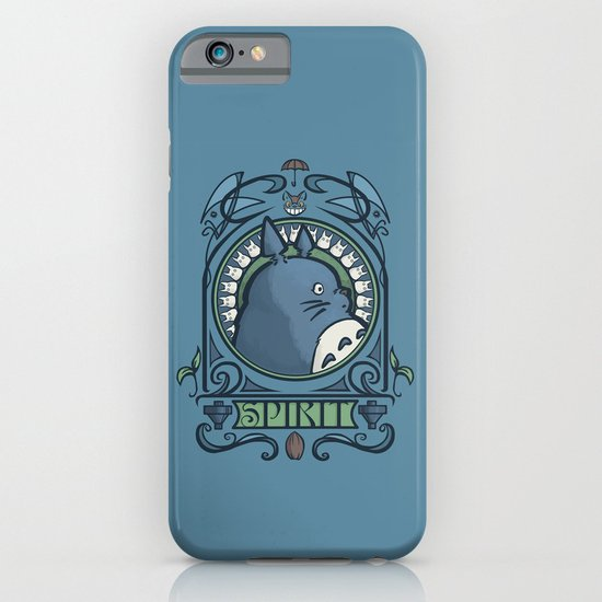 Forest Spirit Nouveau iPhone & iPod Case