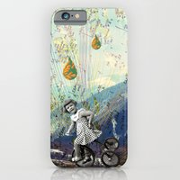 iPhone & iPod Case featuring the early girl gets the bird by cardboardcities