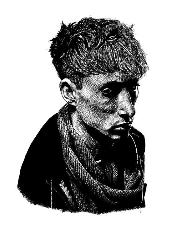 Quiet Man Art Print