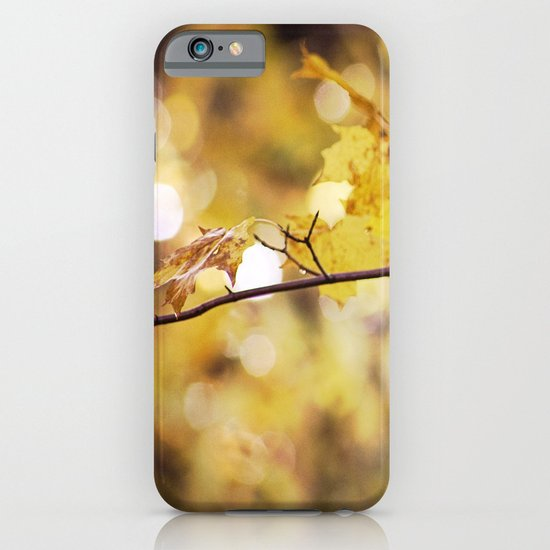 Amber Droplets iPhone & iPod Case