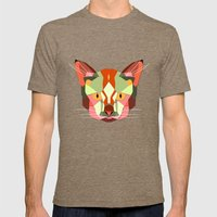 This Is A Cat. Mens Fitted Tee Tri-Coffee SMALL