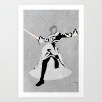Xemnas Art Print