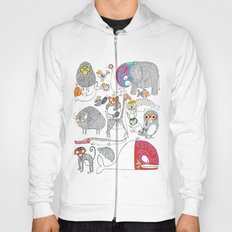 Animales Luchadores Hoody