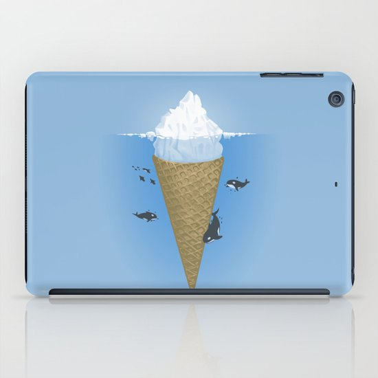 Hidden part of icebergs iPad Case