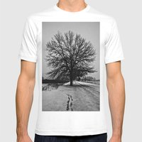 Solus Mens Fitted Tee White SMALL