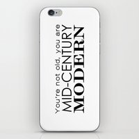 Middle Age Is The New Bl… iPhone & iPod Skin