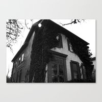 Just A House. Canvas Print