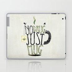 NO DRUG, JUST MUG Laptop & iPad Skin