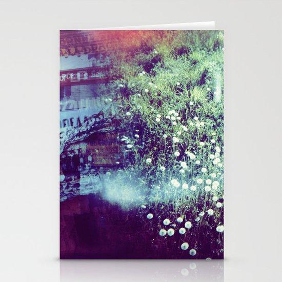 Holga Flowers V Stationery Card