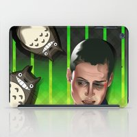 In space no one can hear you scream iPad Case