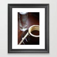 Espresso Framed Art Print