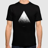 Summit Mens Fitted Tee Black SMALL